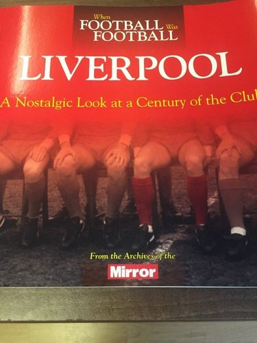 When Football was Football Book