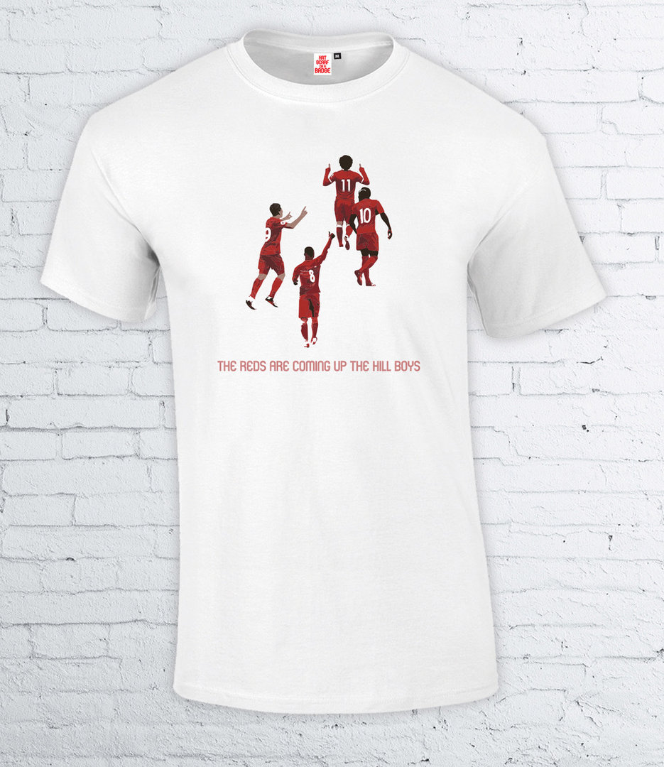 The Reds Are coming up the Hill Boys T-Shirt