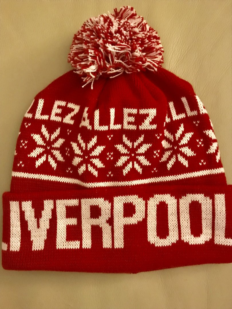 Red bobble allez allez