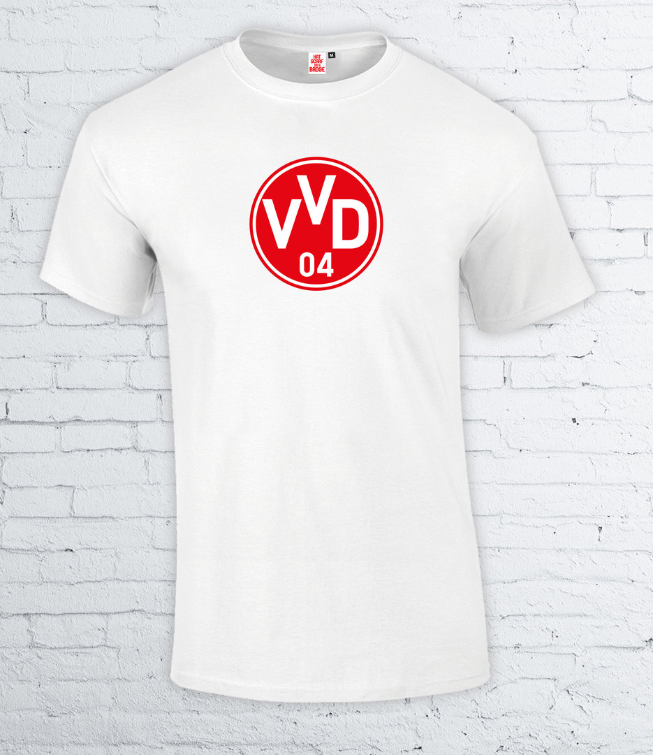 Pre-Order VVD T-Shirt(Red)-for delivery in 10/14 days