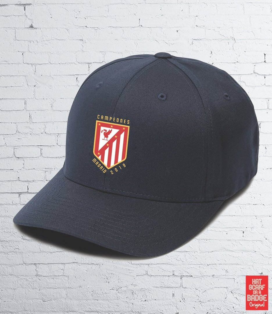 "Pre-Order:Navy ""Madrid 19"" Cap-For Delivery in 7/10 days"