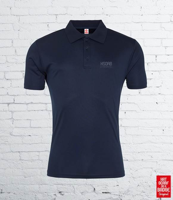 Navy Tech Polo shirt